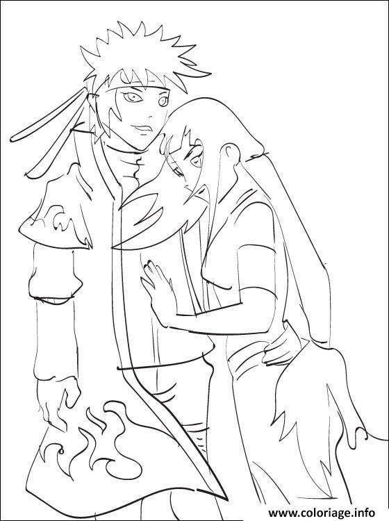 Dessin manga naruto 116 Coloriage Gratuit à Imprimer