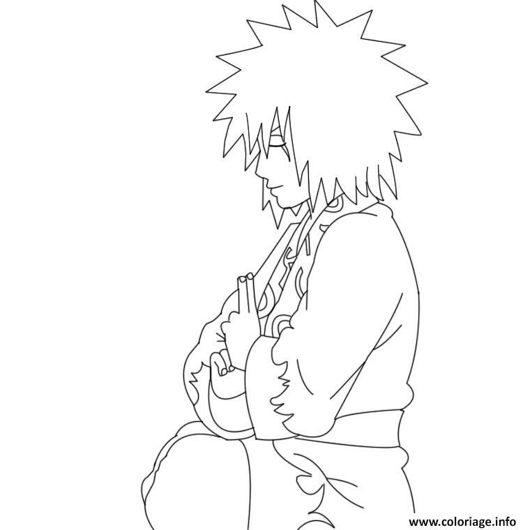 Dessin manga naruto 139 Coloriage Gratuit à Imprimer