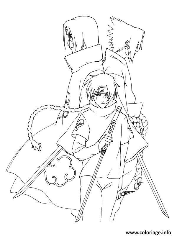 Coloriage manga naruto 7 dessin - Dessin naruto manga ...