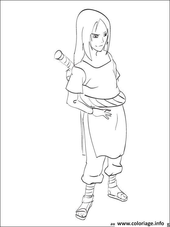 Coloriage manga naruto sasuke 287 - Dessin naruto manga ...