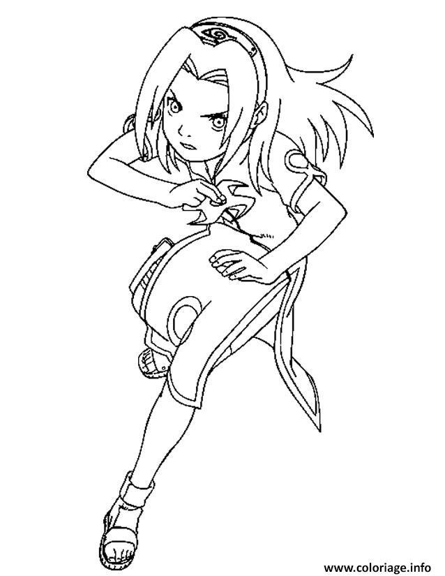 Coloriage manga naruto 20 - Manga naruto dessin ...