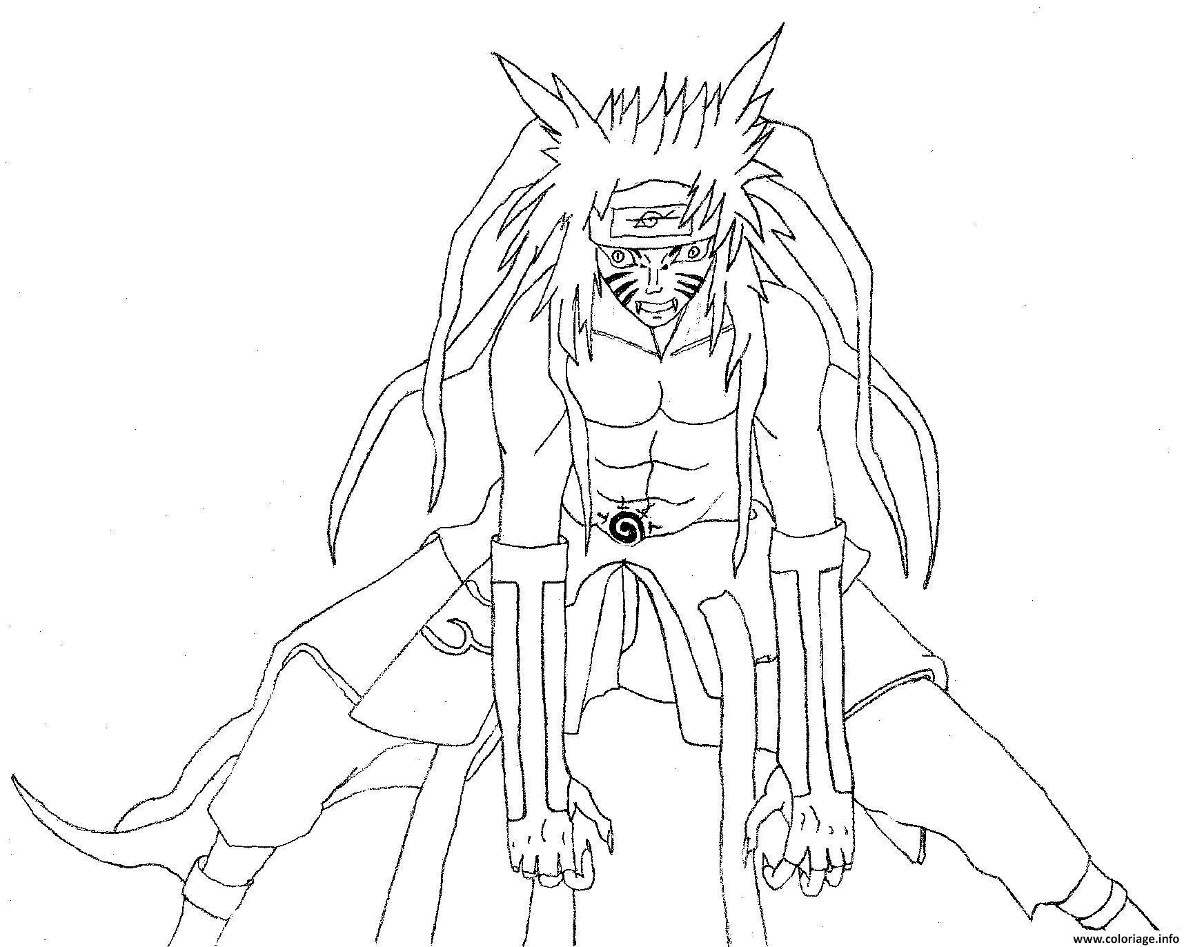 Coloriage manga naruto 28 dessin - Dessin naruto manga ...