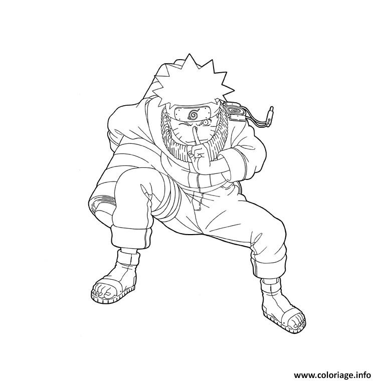 Dessin manga naruto 237 Coloriage Gratuit à Imprimer