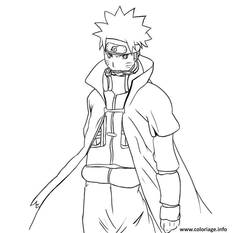 Coloriage Manga Naruto 245 Dessin