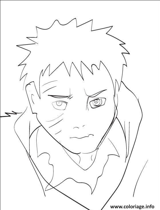 Coloriage manga naruto 270 dessin - Dessin naruto manga ...
