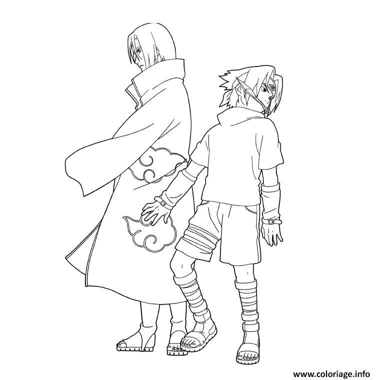 Dessin manga naruto 91 Coloriage Gratuit à Imprimer