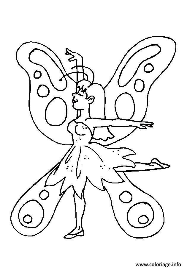 Coloriage papillon 286 - Dessin papillon a decouper ...