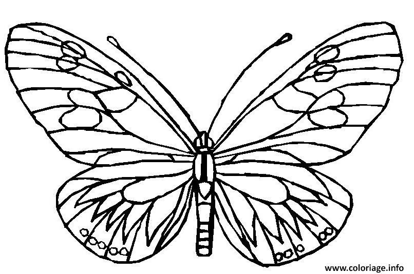 Coloriage papillon 148 dessin - Coloriage de papillon ...