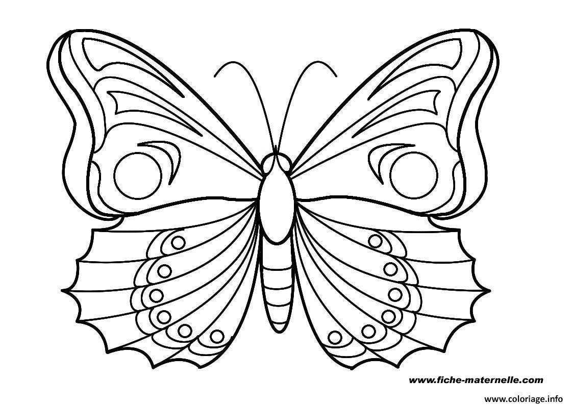 Coloriage Papillon 15 Jecolorie Com