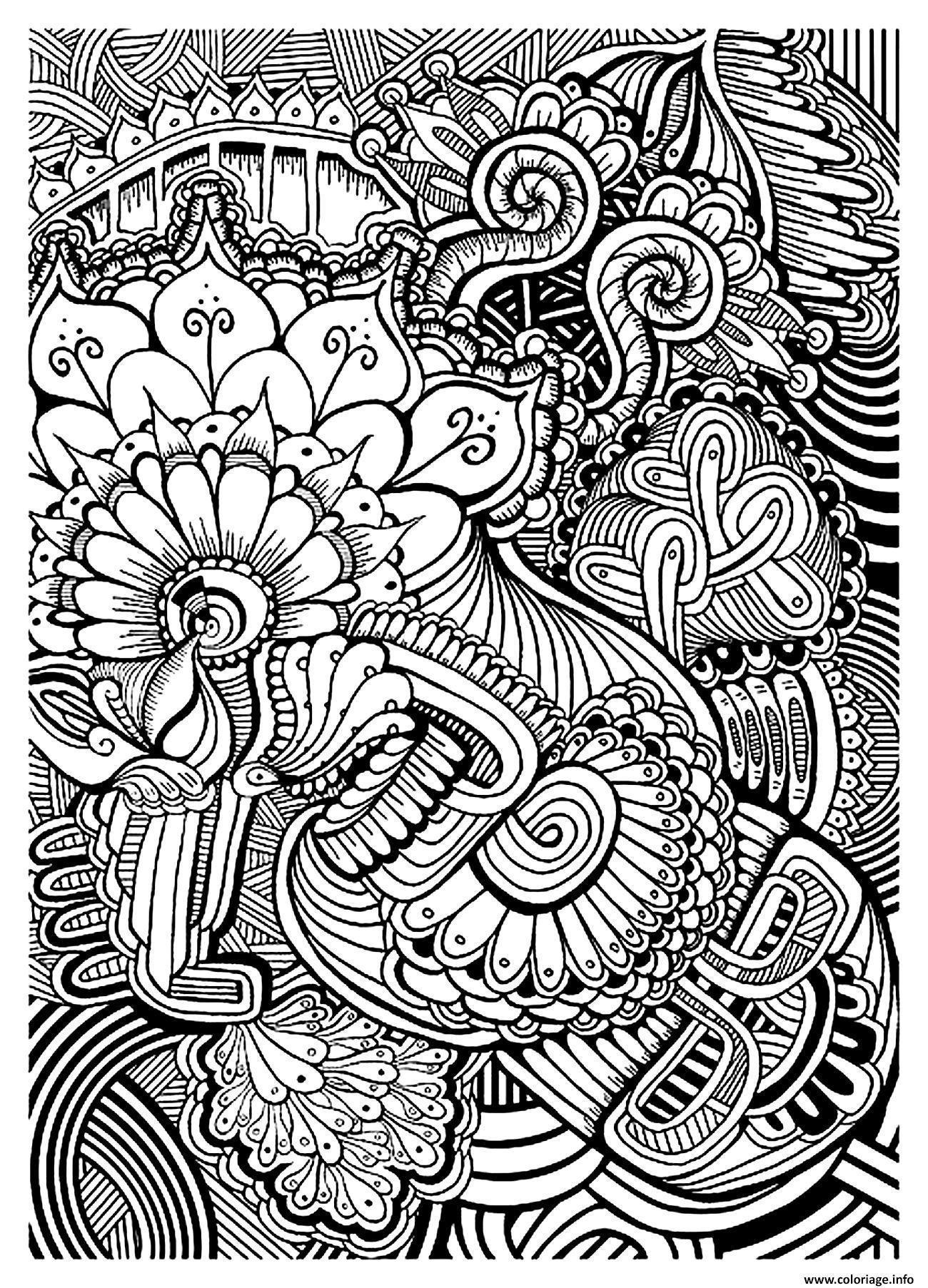 coloriage adulte zen anti stress relax a imprimer dessin imprimer - Coloriage Imprimer Adulte