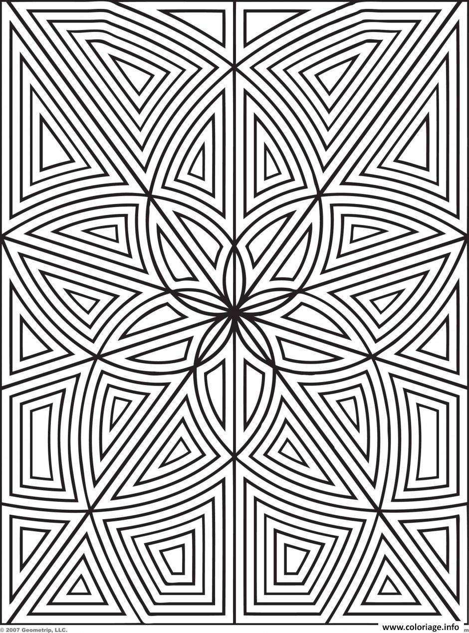 Coloriage labyrinthe fleurs zen dessin - Zen coloriage ...