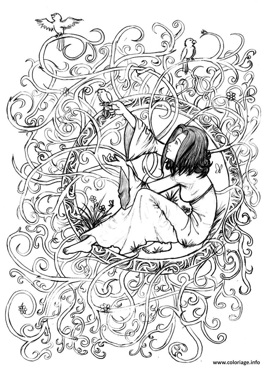 Coloriage Adulte Telecharger.Coloriage Adulte Telecharger