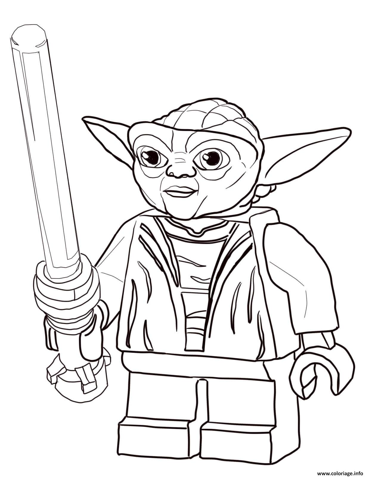 Coloriage star wars lego dessin - Coloriage magique star wars ...