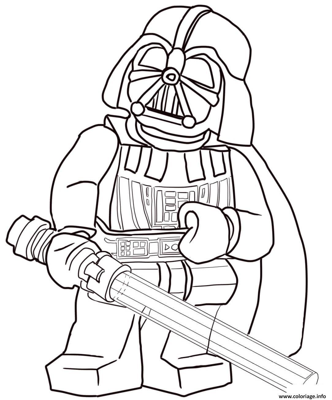 Coloriage Lego Star Wars 3 Movie Dessin