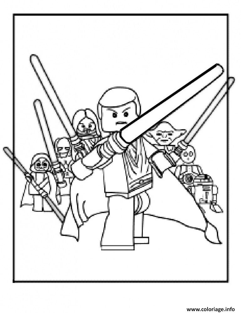 Coloriage Lego Star Wars 73 Dessin