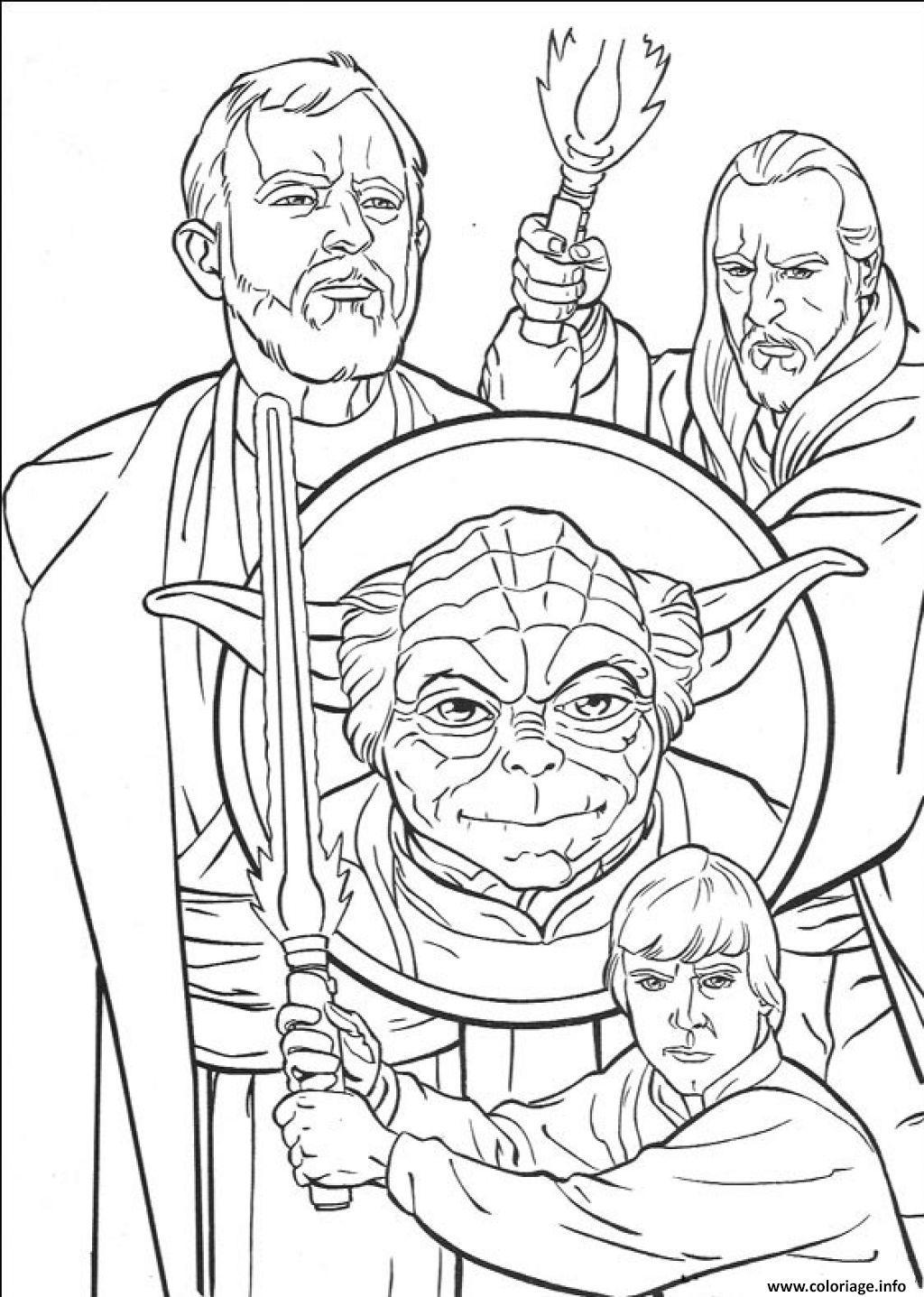 Coloriage Star Wars 12 dessin