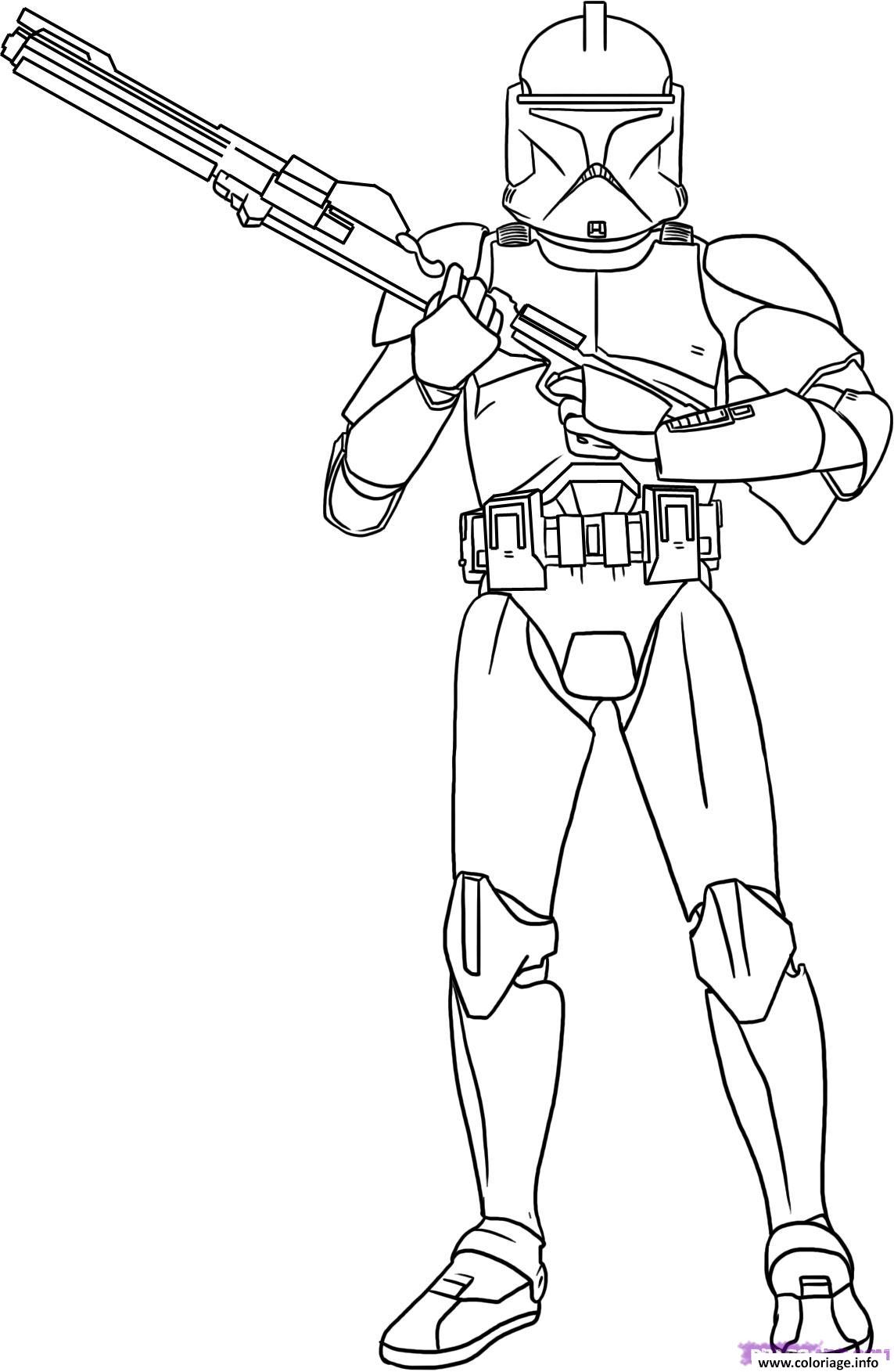 star wars 2 coloriage dessin