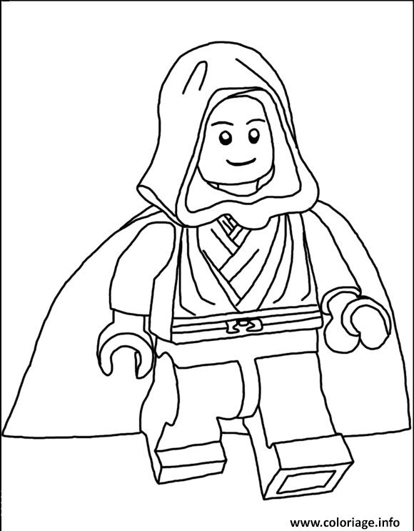 Coloriage Lego Star Wars 71 Dessin