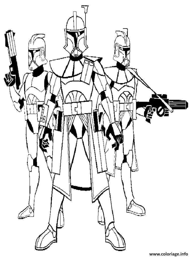Coloriage Star Wars 135 dessin