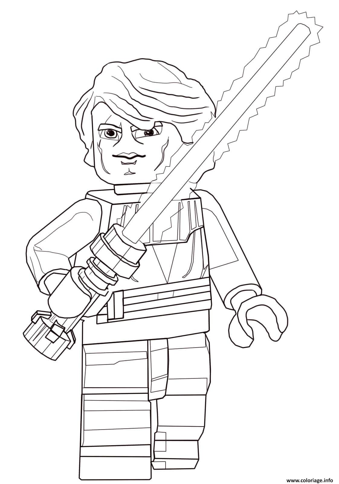 Coloriage lego star wars 77 dessin - Dessin lego star wars ...