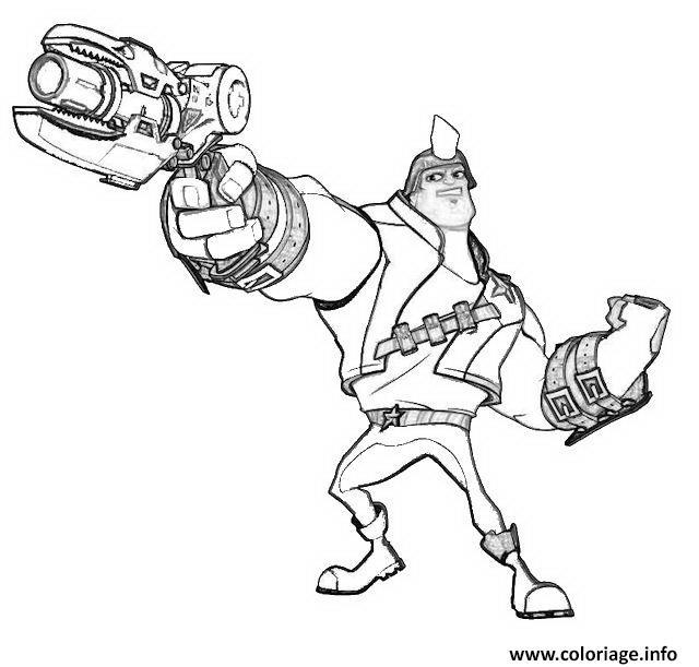 Coloriage dessin slugterra fusil dessin - Coloriage slugterra a imprimer ...