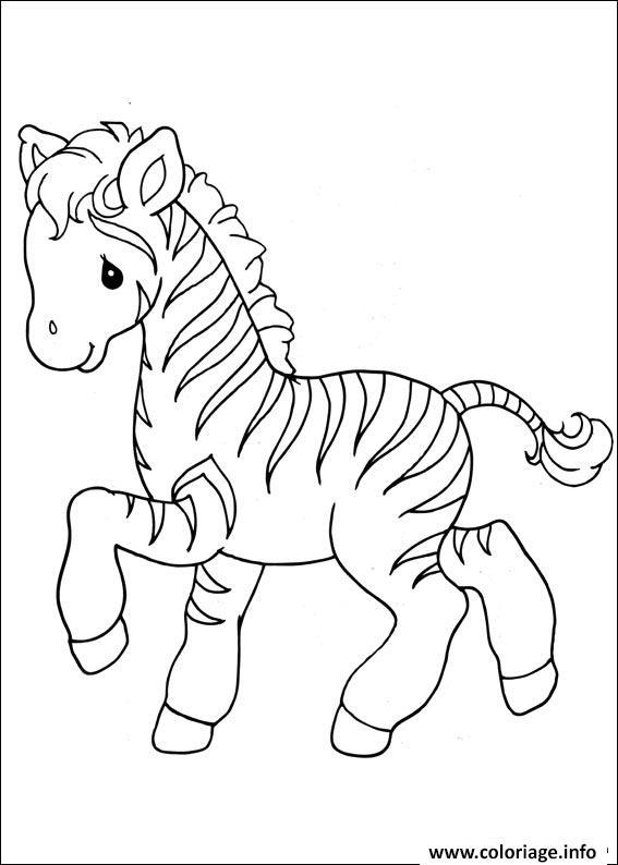 Coloriage Zebre 25 Jecolorie Com