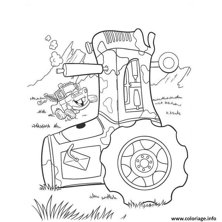 Dessin tracteur 120 Coloriage Gratuit à Imprimer