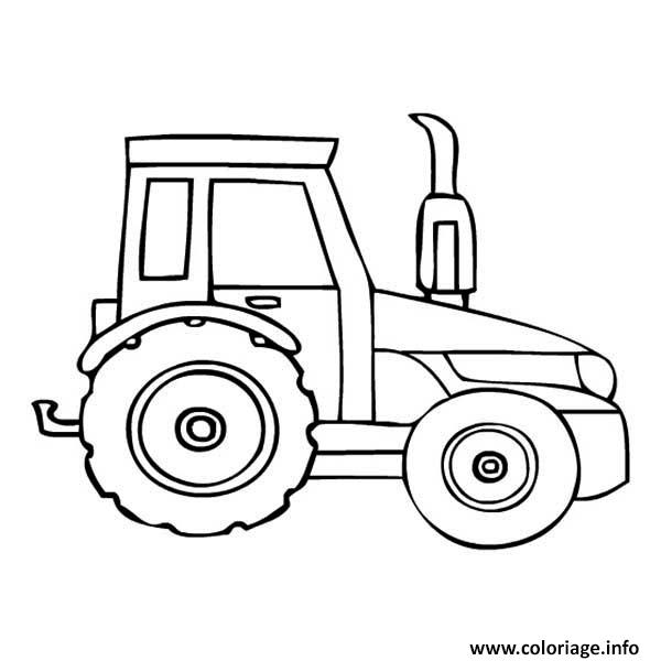 tractor coloring pages for toddleers - photo#19