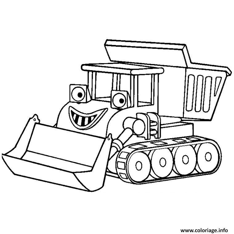 Coloriage tracteur avec charrue dessin - Jeux de tracteur tom ...