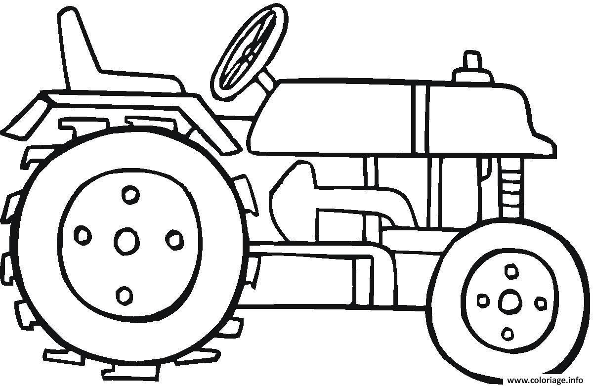 Dessin tracteur 73 Coloriage Gratuit à Imprimer