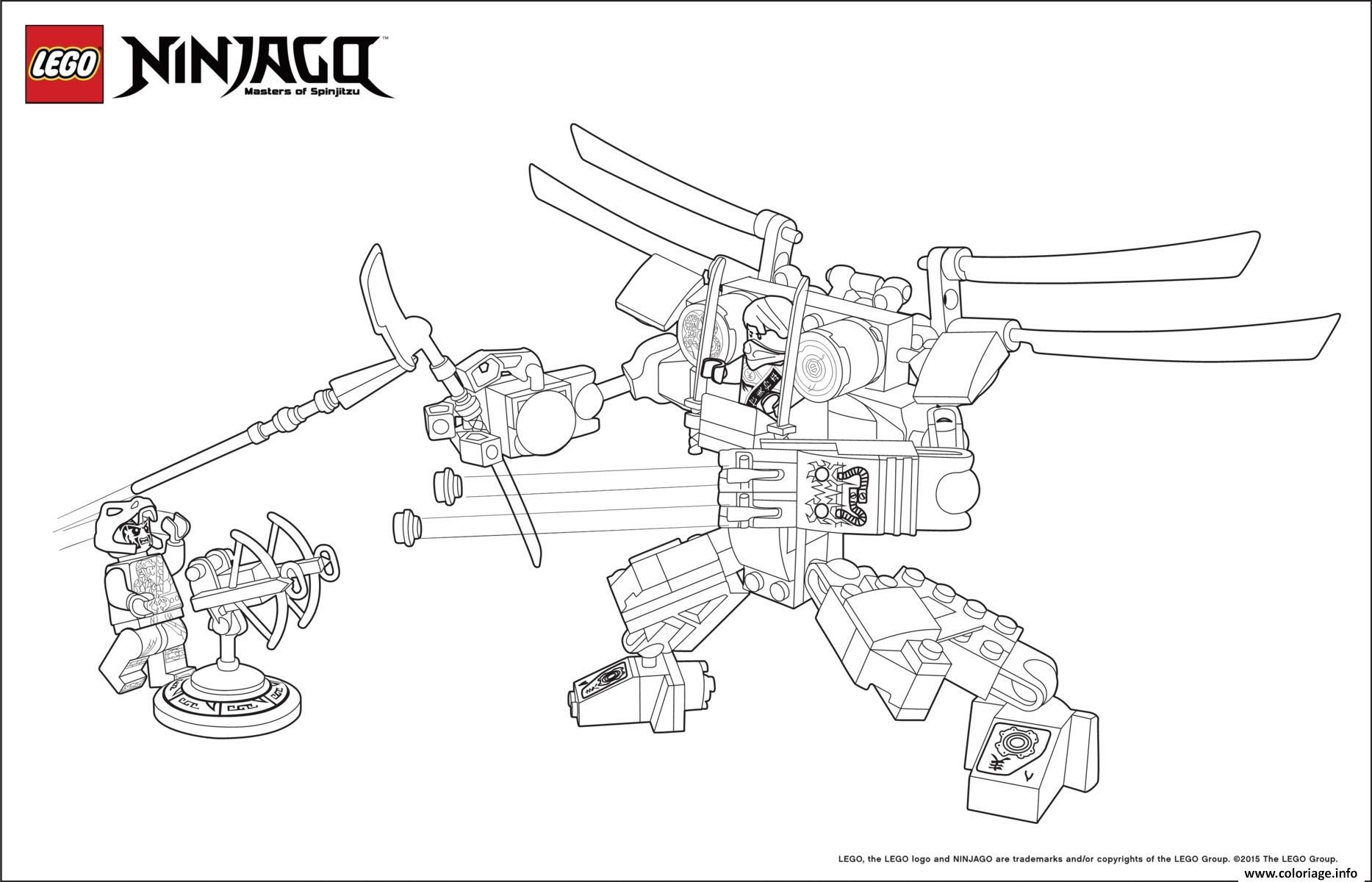 Coloriage ninjago monster vs dogshank dessin - Dessin de lego ninjago ...