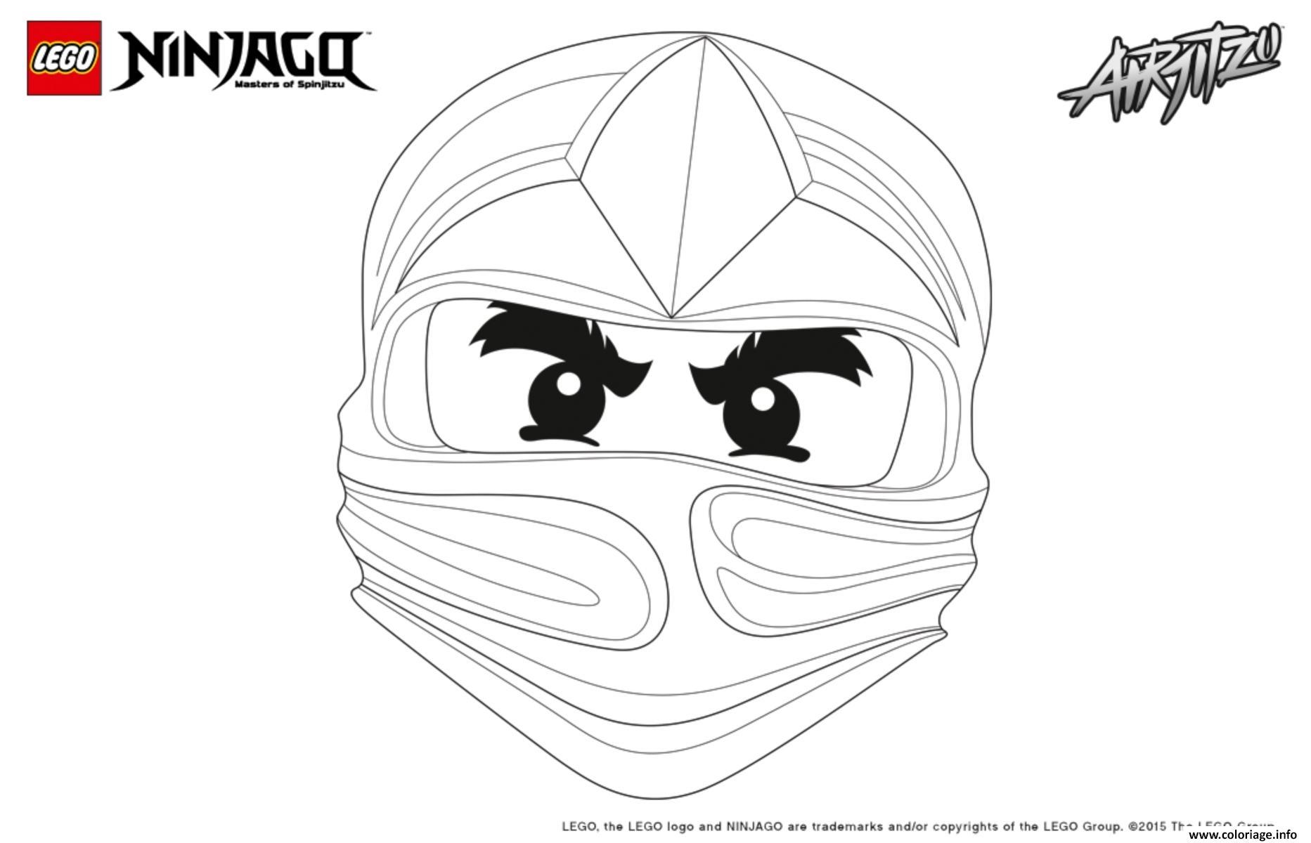 Coloriage ninjago lego visage cole dessin - Ninjago a imprimer ...