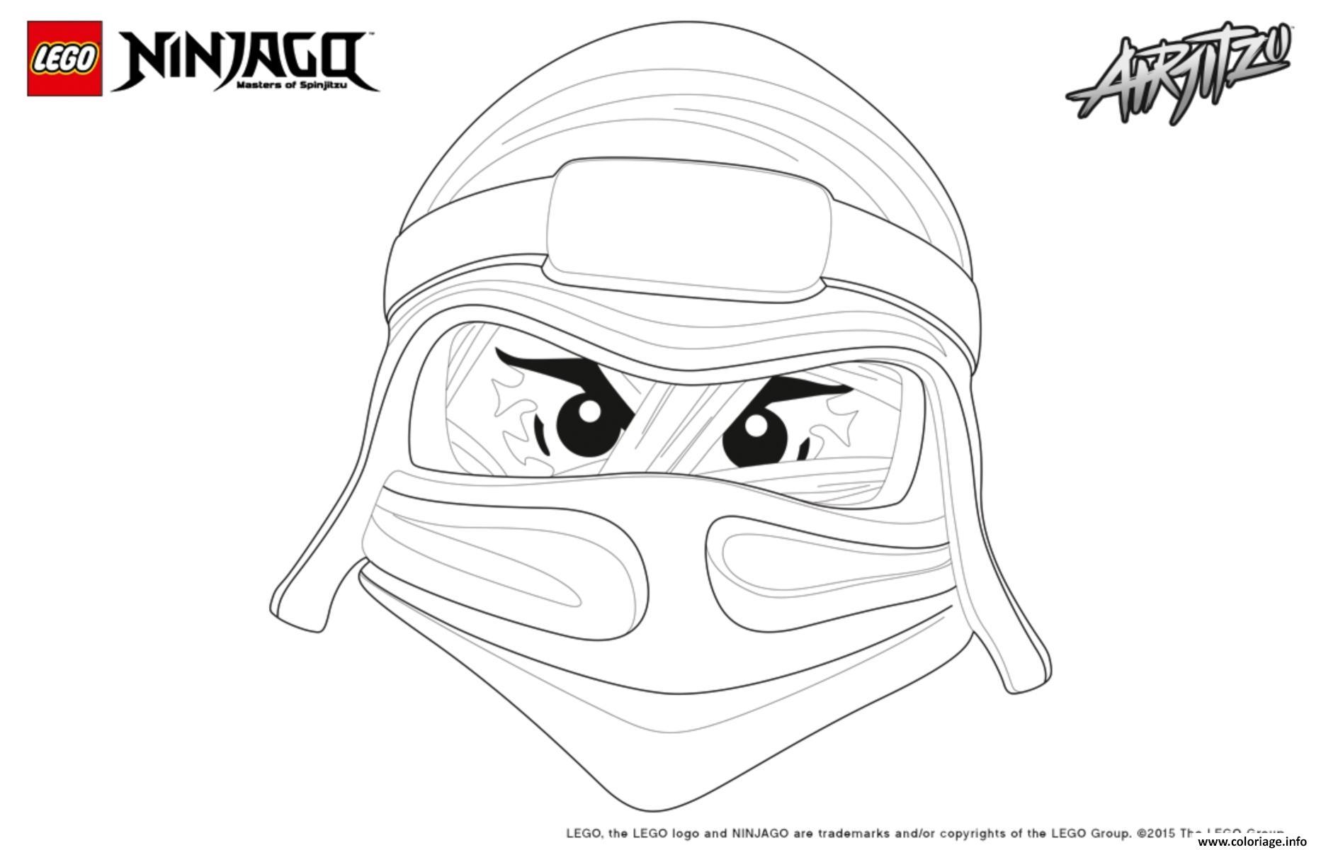 Coloriage Ninjago Lego Lloyd Dessin Ninjago A Imprimer