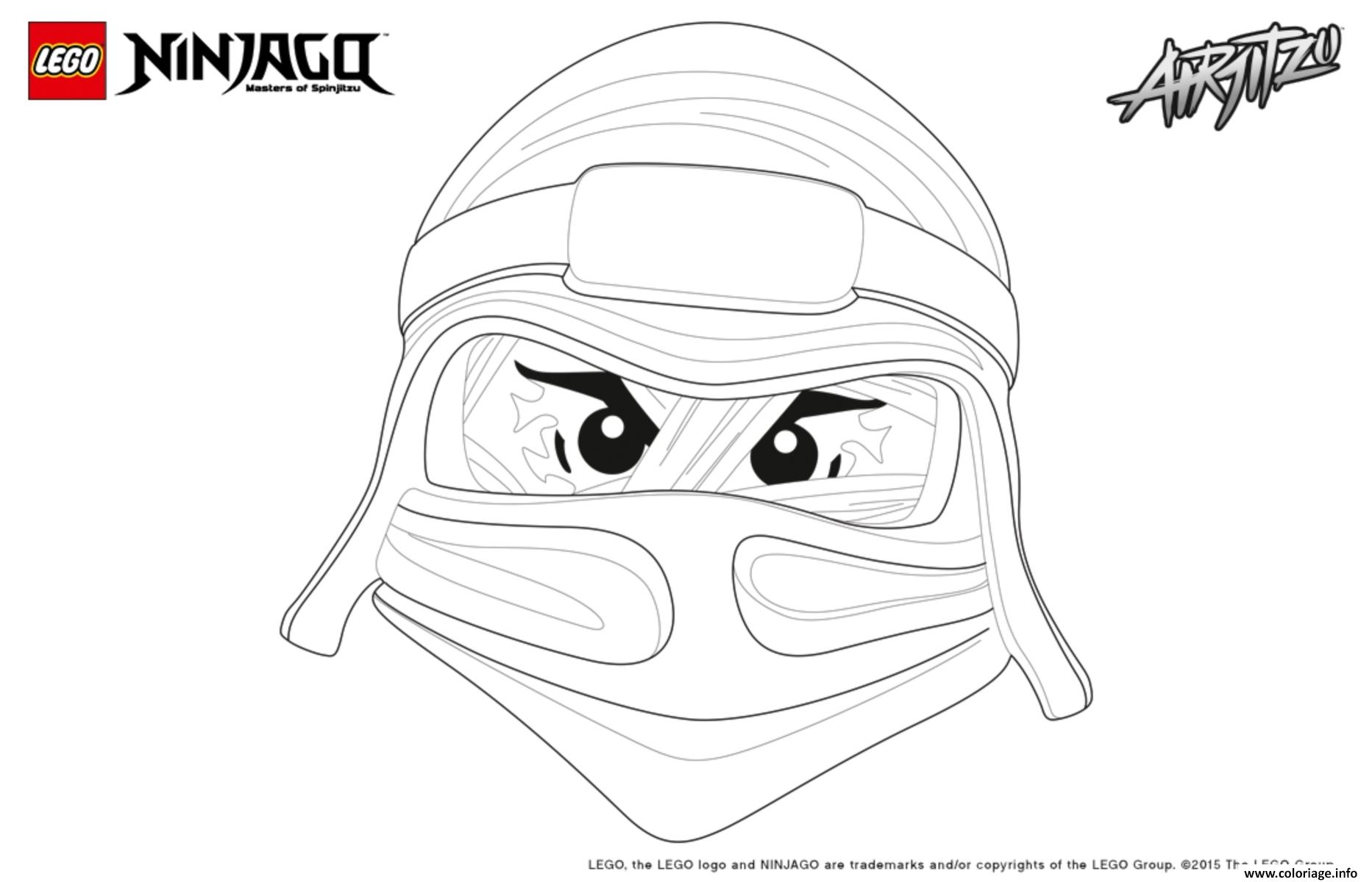 Coloriage ninjago lego lloyd - Ninjago a imprimer ...