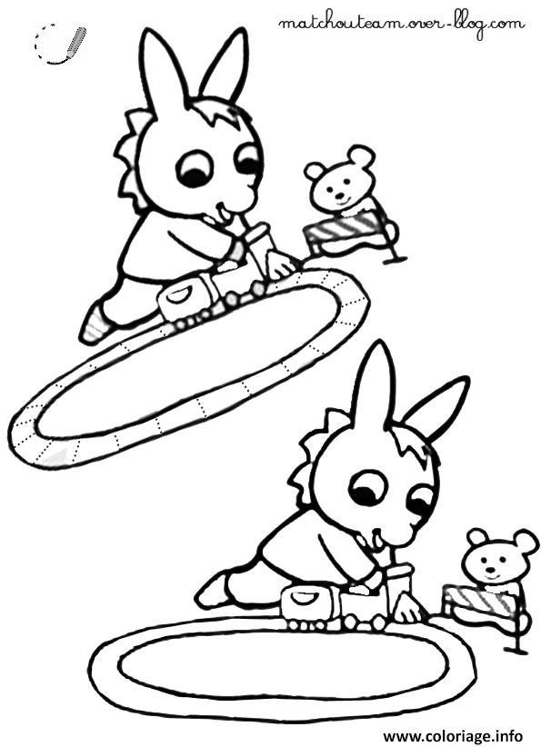 Coloriage trotro joue au train dessin - Coloriage a imprimer trotro ...