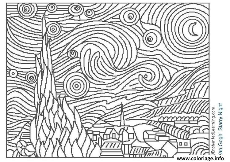 Coloriage art 16 - Coloriage art ...