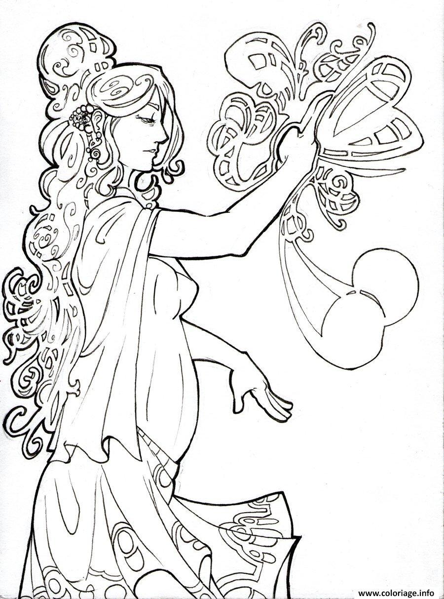 Dessin art 18 Coloriage Gratuit à Imprimer