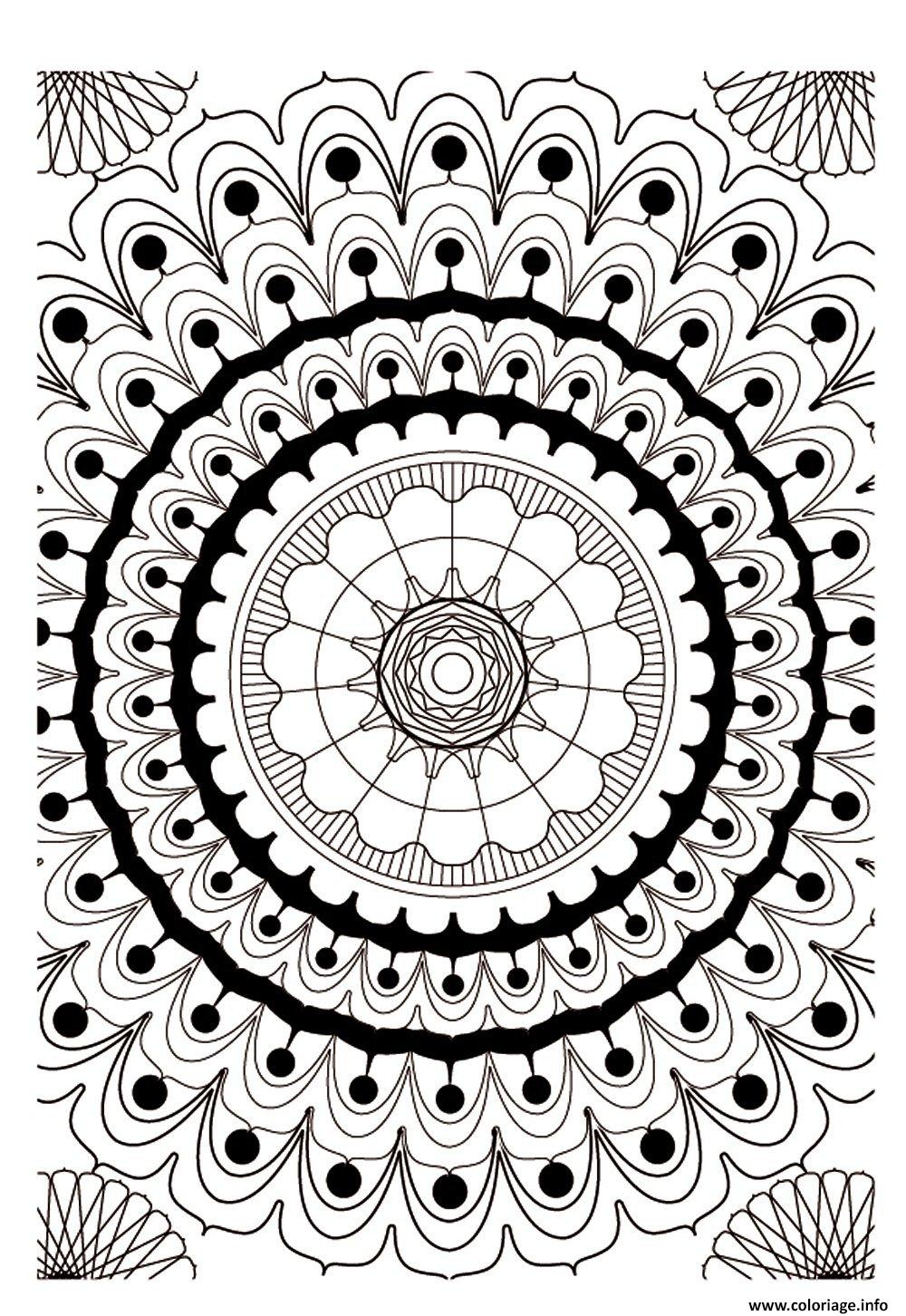 Coloriage art therapie 16 dessin - Coloriage therapie ...