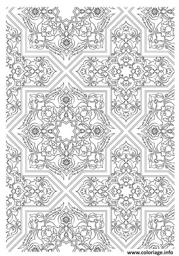Coloriage art therapie 54 dessin - Coloriage therapie ...