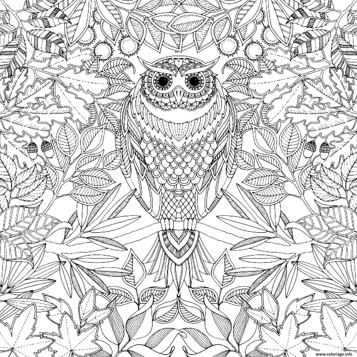 Coloriage art therapie 45 dessin - Coloriage art ...