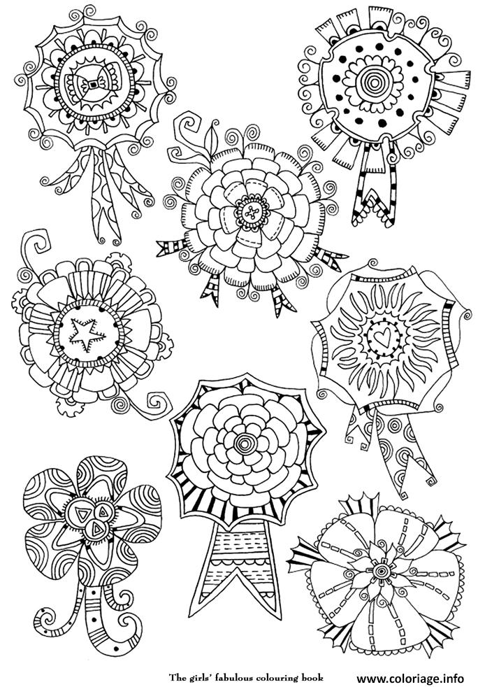 Coloriage art therapie 3 dessin - Coloriage therapie ...