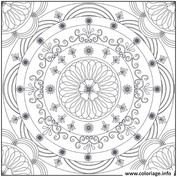 Dessin art therapie 19 Coloriage Gratuit à Imprimer