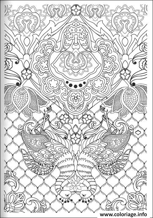 Coloriage art therapie 37 - Coloriage therapie ...