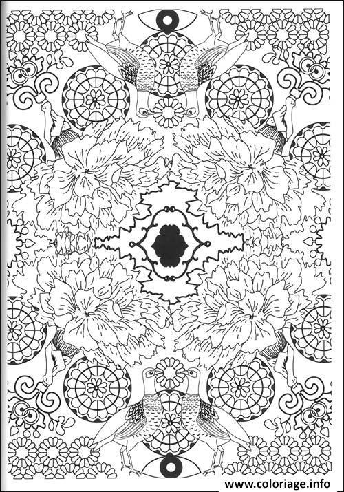 Coloriage art therapie 36 - Coloriage art ...