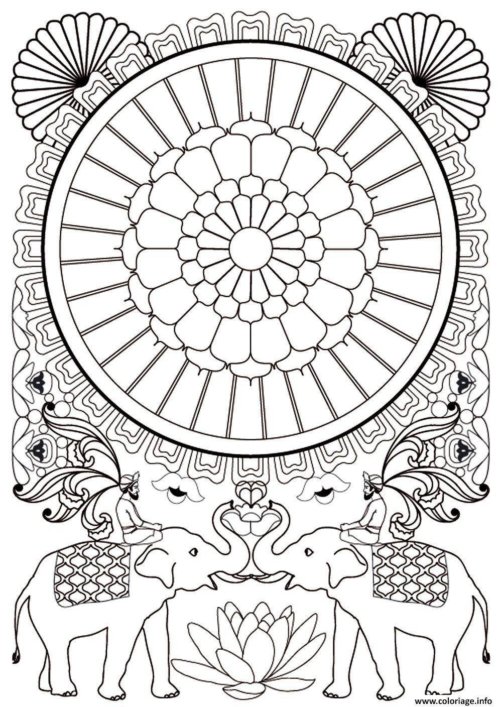 Coloriage art therapie 97 dessin - Coloriage therapie ...