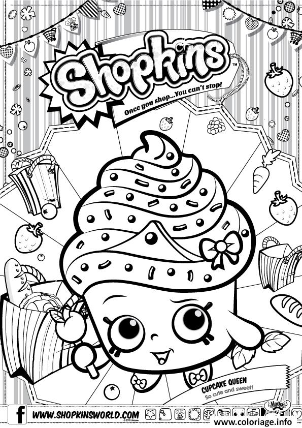 Coloriage shopkins cupcake queen dessin - Coloriage manon ...