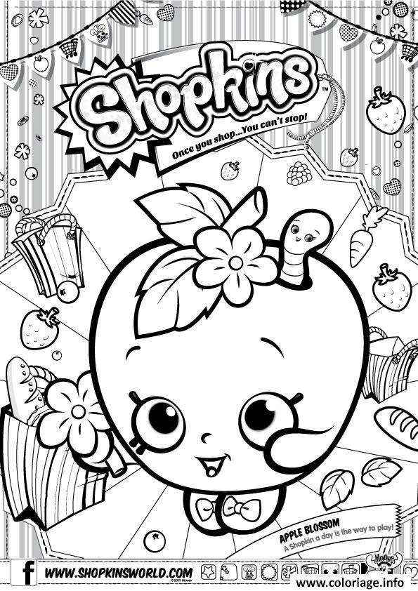 Coloriage A Imprimer Shopkins.Coloriage Shopkins Apple Blossom Jecolorie Com