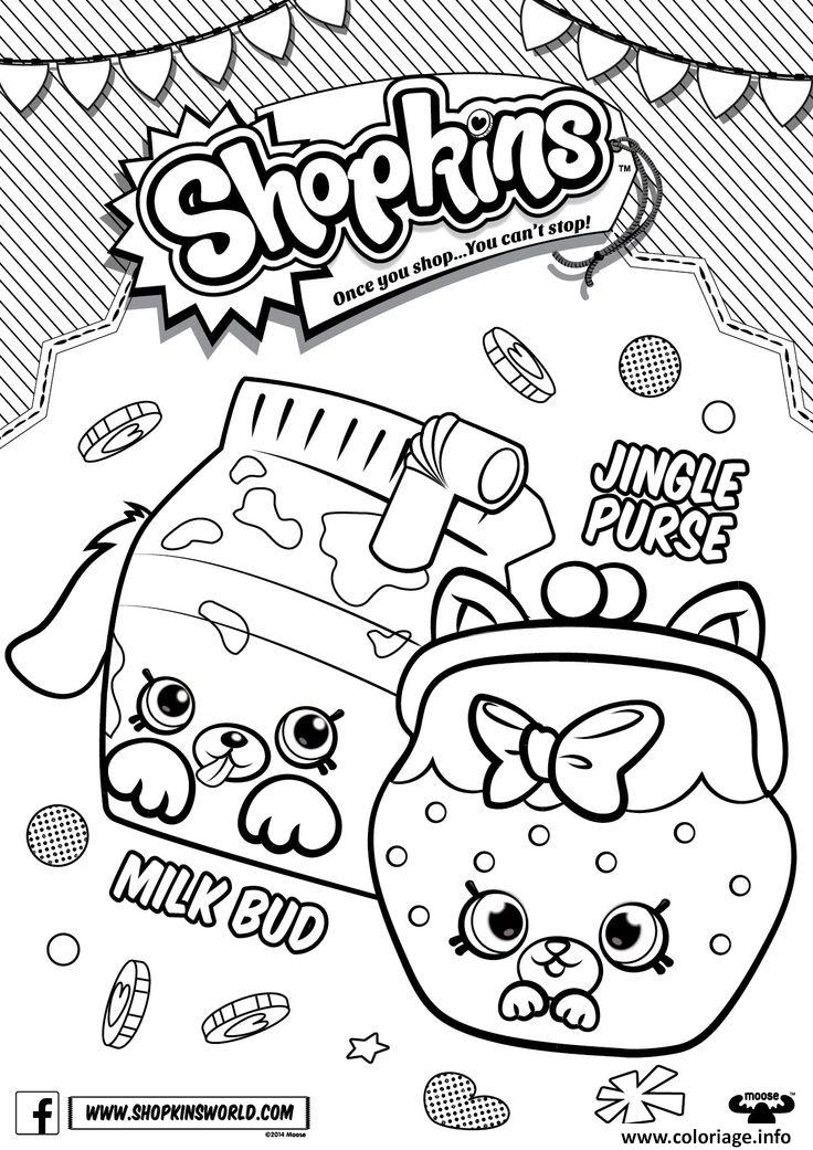 Coloriage Shopkins Season 4 Dessin