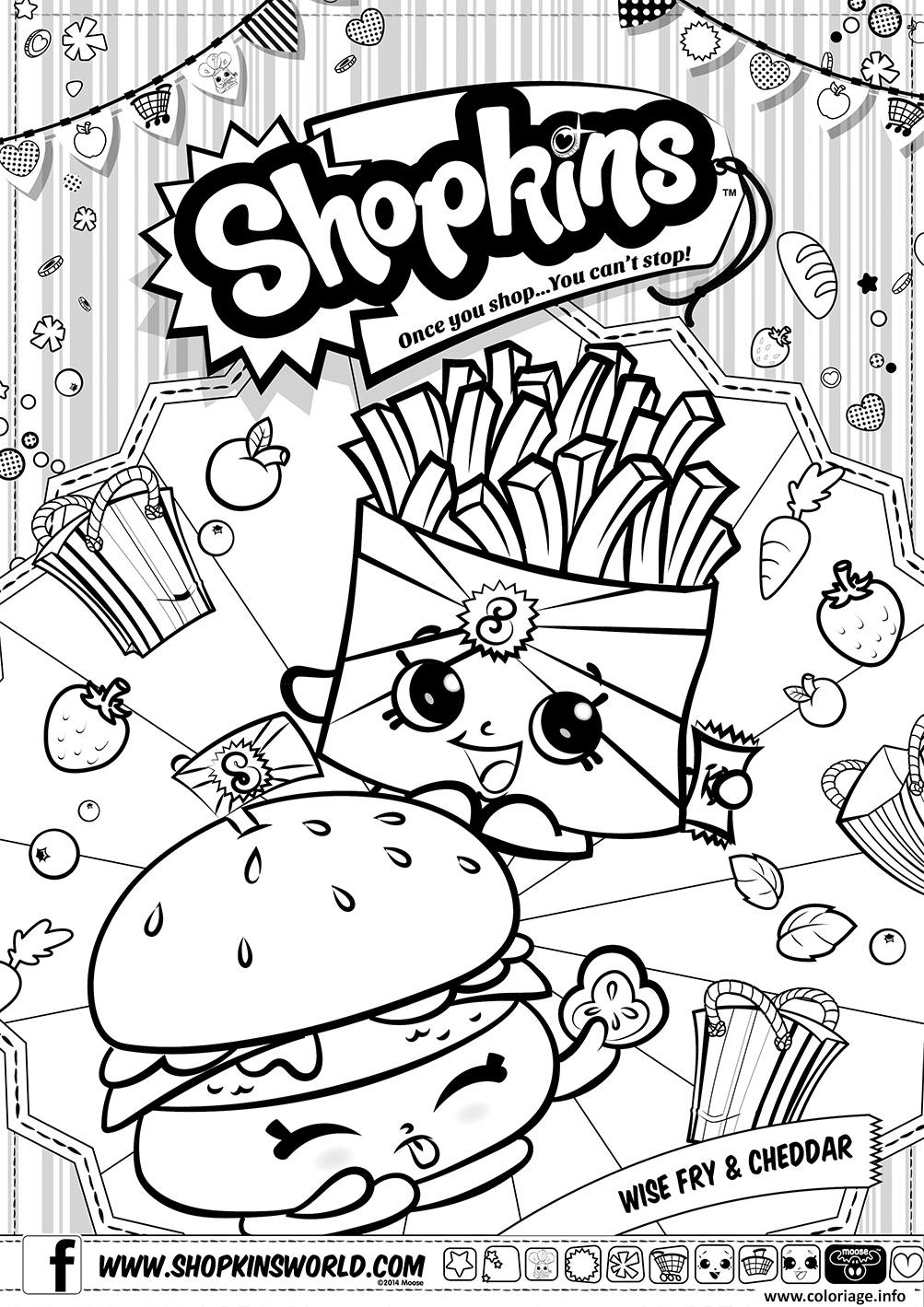 Shopkin Coloring Pages That You
