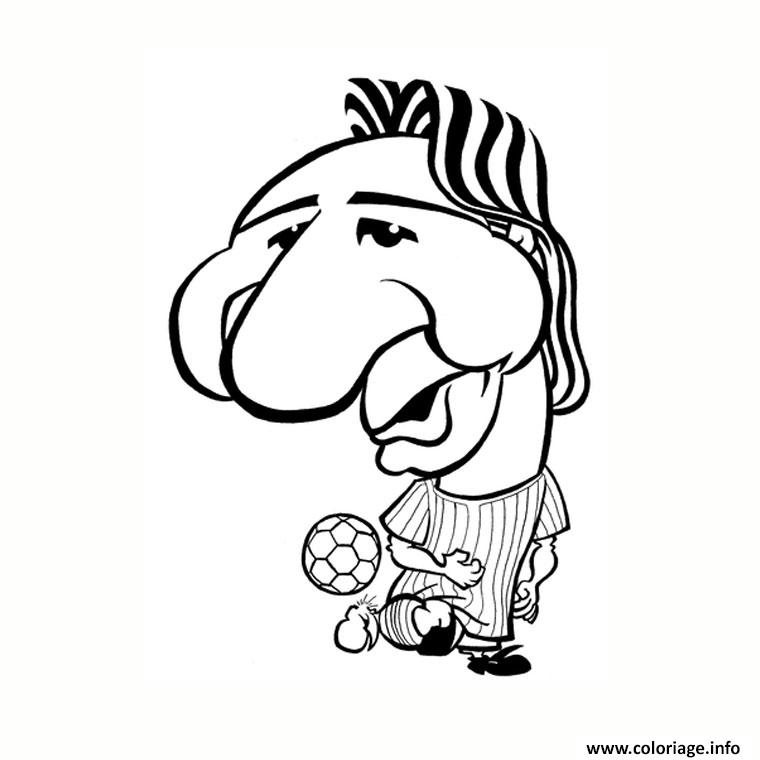 Coloriage Dessin Lionel Messi Drole Humour Dessin Foot A Imprimer